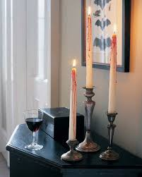 halloween candels creepy candles u0026 video martha stewart