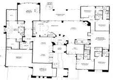 single 5 bedroom house plans 5 bedroom one floor plans home design