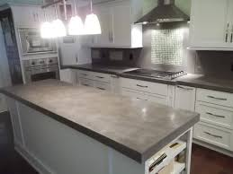 cement countertops cement countertops awesome trick modern kitchen 2017