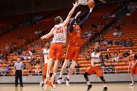 utep basketball veterans prevail over newcomers in scrimmage u2013 the