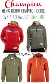 champion men u0027s retro graphic hoodie only 12 was 40 shipped free