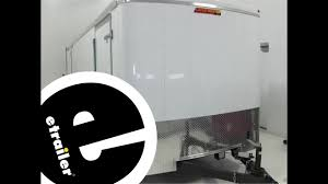 enclosed trailer interior light kit bargman interior light with switch installation etrailer com youtube