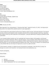 cover letter for medical administrative assistant front desk