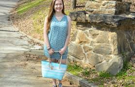 floral friday light blue old navy shift dress raine in the city