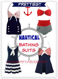 prettiest nautical themed bathing suits comfy abode