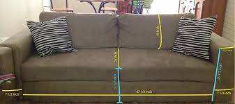 How To Make Sofa Cover Making Sofa Covers Mostly Everything But Sewing Sofa Slipcover