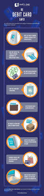 debit card for how to be debit card safe infographic portal