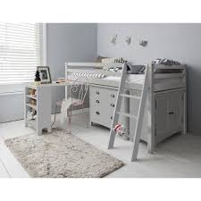 grey desk with drawers silk grey sleep station with cabinet drawers desk noa nani