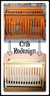 how to paint a crib painted nursery furniture project nursery