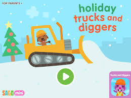 sago mini holiday trucks and diggers a wonderful new and