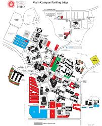 First Class Mail Time Map Campus Parking