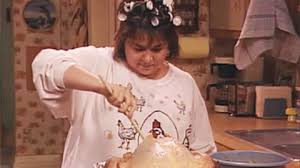 roseanne barr thanksgiving gif find on giphy