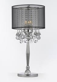 silver base table lamp 133 unique decoration and brown and silver