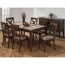 patio table with removable tiles dining room jofran 794 64 tri color tile top dining table with