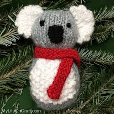25 days of handmade ornaments day 15 koala my on craft