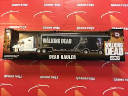 2016 kenworth t2000 the walking dead kenworth t2000 hauler 2016 greenlight grana toys