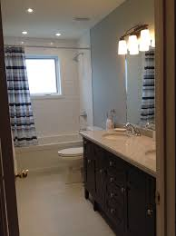 Gray And Blue Bathroom Ideas - kohler forte in bathroom traditional with niche for shaving legs