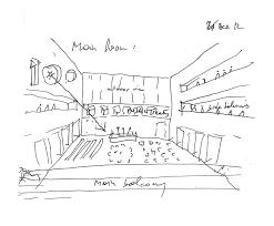 Room Sketch Gallery Of Grottammare Cultural Center Bernard Tschumi