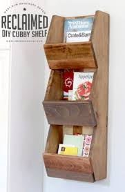 how to build a shelf cubby shelves scrap and shelves