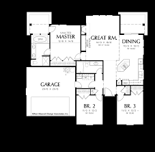 mascord house plan 1148 the glenview