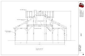 Barn Plans Designs 42x50 Teton Barn Plans