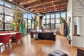 spacious timber loft overlooking 606 trail seeks 779k curbed