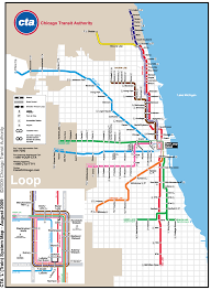 Chicago Neighborhood Map Poster by 5801 N River Rd Rosemont Il 60018 To Washington Station19 N