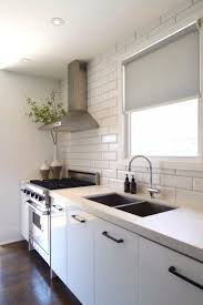 Classic Black And White Kitchen Before And After Classic And Minimal Black And White Kitchen