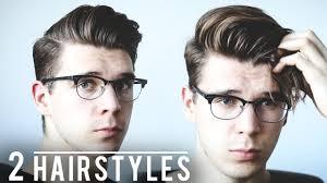 2 easy men u0027s hairstyles for day u0026 night men u0027s 2017 hair tutorial