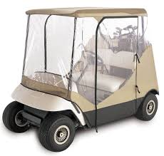 club car golf cart rain cover enclosure for club car 2 person yamaha
