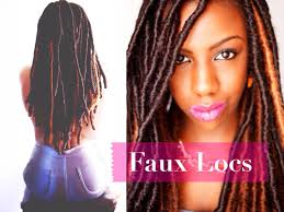 faux dreads with marley hair faux locs marley locs temporary loc extensions protective