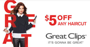 haircut specials at great clips great clips 5 off any haircut coupon