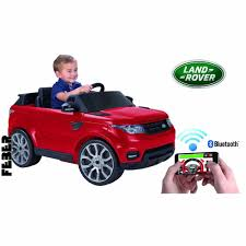 toy range rover feber range rover sports 6v ride on car with smartphone controller
