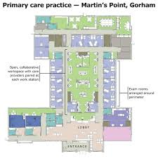 doctor office floor plan portland based architecture firm changes the approach to medical