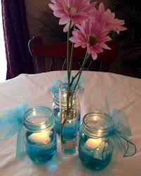 jar table decorations wedding table decorations using jars luxury wedding or baby