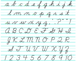 learning cursive handwriting all again write analog - How Write Cursive Handwriting
