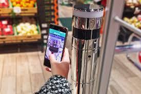 auchan si e social da auchan si può fare la spesa con il cellulare senza passare in cassa