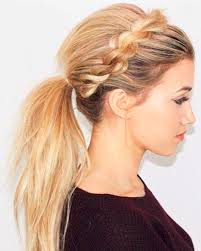 headband ponytail rope braided headband ponytail hairstyles for women dinga poonga