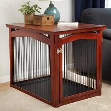 Dog Crate Covers Merry Products End Table Pet Crate With Cage Cover Hayneedle
