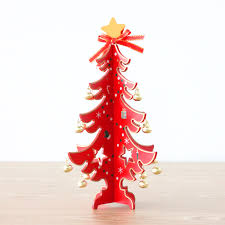 gift 1 pc table trees decoration creative wooden