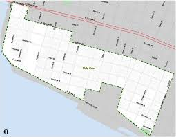 New Orleans 9th Ward Map by The Holy Cross Historic District Is Designated Nola Preservation