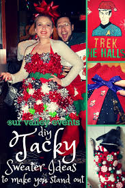 diy tacky christmas sweater ideas our valley events