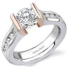 engage diamond ring gelinabaci tension set enagement rings engage diamond studio in