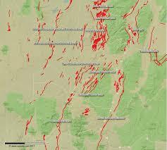 Utah County Map Wasatch Fault Zone Map Salt Lake City And Utah Faults Map