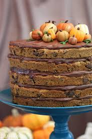 pumpkin cake decoration ideas pumpkin cake with chocolate chips kolanli com