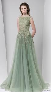tony ward fall 2016 ready to wear dresses green weddings ball
