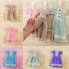 hanging ls for kitchen cute hand towels strong absorbent soft princess skirt dress shape