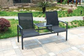Dunelm Bistro Table Two Seater Garden Bench Benches Two Seater Garden Furniture Two