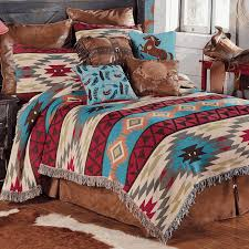 southwest expressions tapestry coverlet queen
