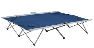 folding double bed kampa folding portable together double camp